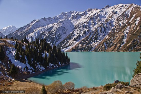 Big Almaty Lake and surroundings, Kazakhstan photo 1