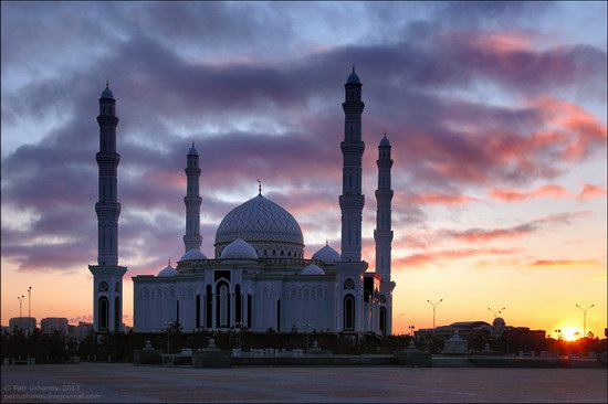 Hazrat Sultan mosque, Astana, Kazakhstan photo 1