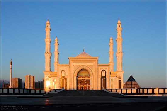 Hazrat Sultan mosque, Astana, Kazakhstan photo 5