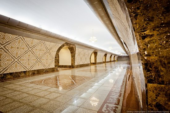 Beautiful Interiors of Almaty Subway, Kazakhstan photo 11