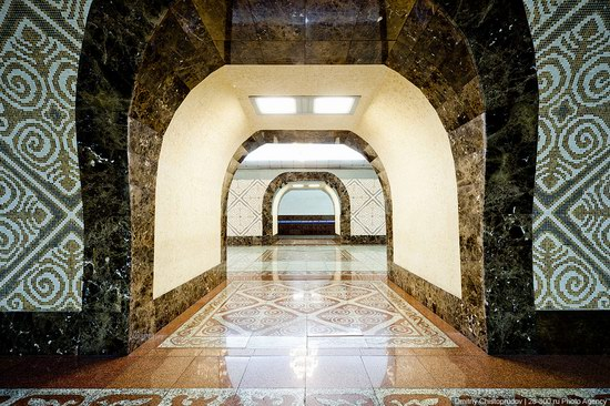 Beautiful Interiors of Almaty Subway, Kazakhstan photo 12