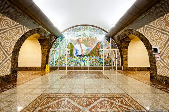Beautiful Interiors of Almaty Subway, Kazakhstan photo 13