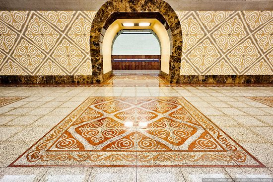 Beautiful Interiors of Almaty Subway, Kazakhstan photo 15