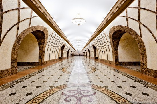 Beautiful Interiors of Almaty Subway, Kazakhstan photo 16