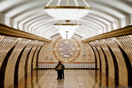 Beautiful Interiors of Almaty Subway, Kazakhstan photo 17