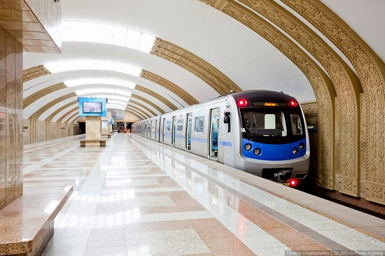 Beautiful Interiors of Almaty Subway, Kazakhstan photo 18