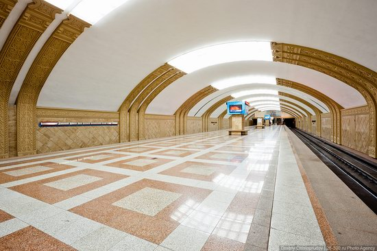 Beautiful Interiors of Almaty Subway, Kazakhstan photo 20