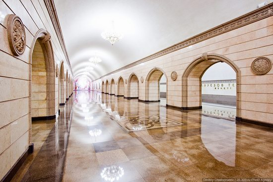 Beautiful Interiors of Almaty Subway, Kazakhstan photo 5