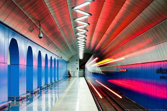 Beautiful Interiors of Almaty Subway, Kazakhstan photo 7
