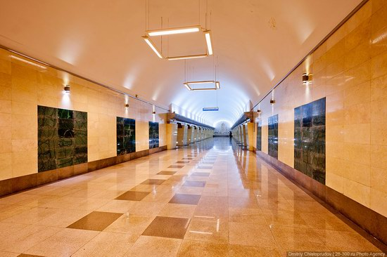 Beautiful Interiors of Almaty Subway, Kazakhstan photo 9