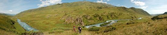 Hiking in Dzhungar Alatau, Kazakhstan photo 24