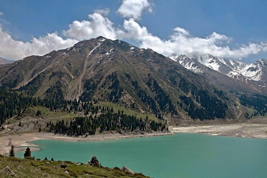 The Big Almaty Lake and surroundings, Kazakhstan, photo 4
