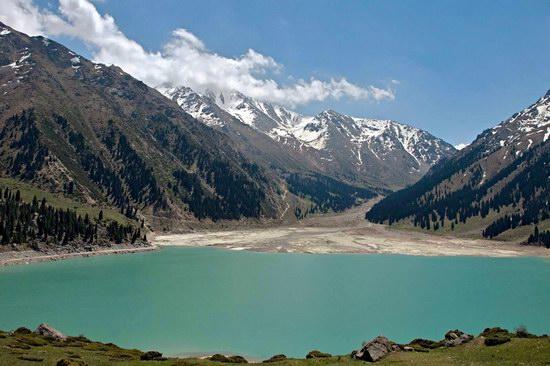 The Big Almaty Lake and surroundings, Kazakhstan, photo 5