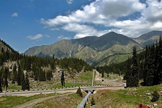The Big Almaty Lake and surroundings, Kazakhstan, photo 7