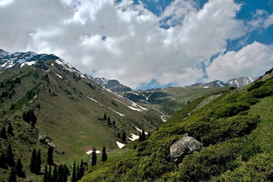 The Big Almaty Lake and surroundings, Kazakhstan, photo 8