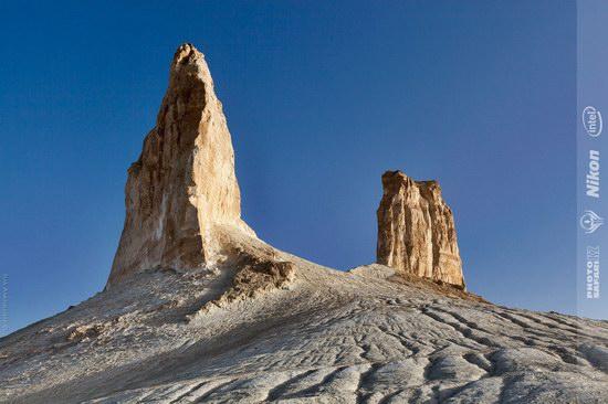 Boszhira - white chalk landscape, Kazakhstan, photo 2