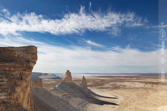 Boszhira - white chalk landscape, Kazakhstan, photo 3