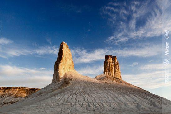 Boszhira - white chalk landscape, Kazakhstan, photo 4