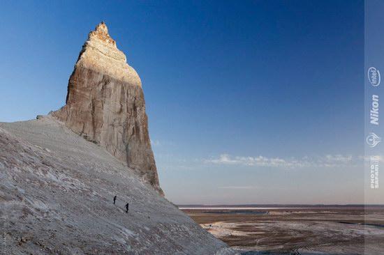 Boszhira - white chalk landscape, Kazakhstan, photo 5