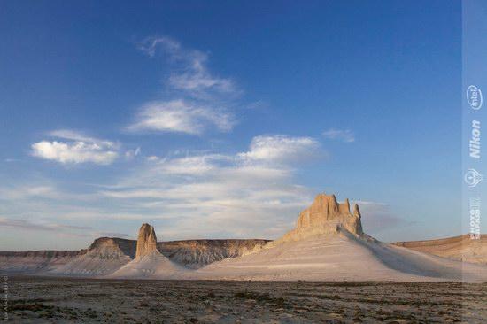 Boszhira - white chalk landscape, Kazakhstan, photo 6