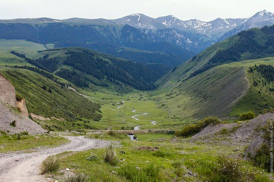 Walking along the mountain passes of Kazakhstan, photo 13