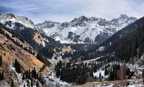 Winter in Trans-Ili Alatau, Kazakhstan, photo 1