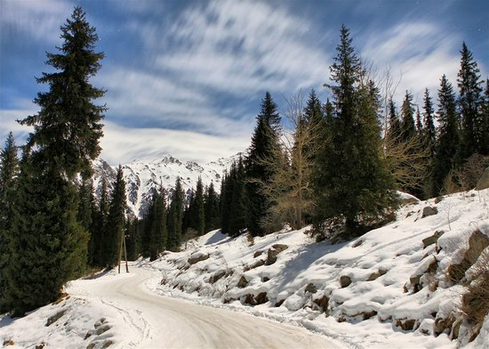 Winter in Trans-Ili Alatau, Kazakhstan, photo 7