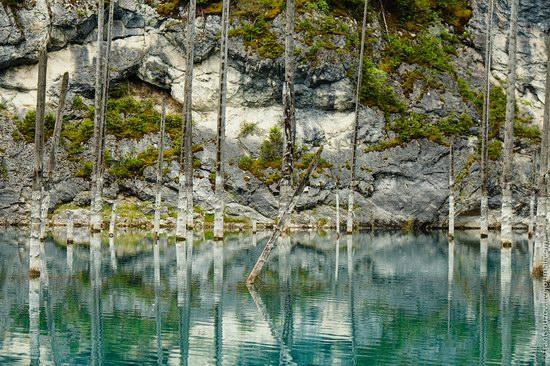 Sunken Forest, Kaindy Lake, Kazakhstan, photo 3