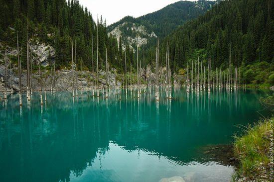 Sunken Forest, Kaindy Lake, Kazakhstan, photo 8