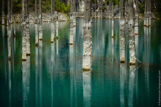Sunken Forest, Kaindy Lake, Kazakhstan, photo 9