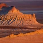 Breathtaking view of the Ustyurt Plateau