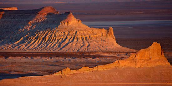 The Ustyurt Plateau, Kazakhstan