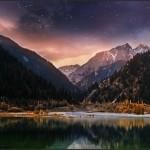 Moonlit Night on Lake Issyk