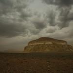 Alien landscapes around Mount Shergala