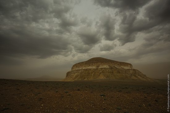 Alien landscapes around Mount Shergala, Kazakhstan, photo 1