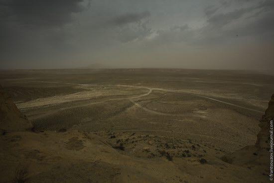 Alien landscapes around Mount Shergala, Kazakhstan, photo 10
