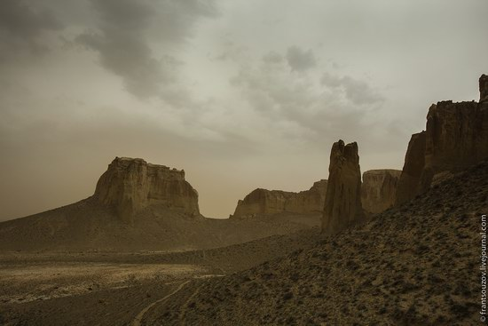 Alien landscapes around Mount Shergala, Kazakhstan, photo 11