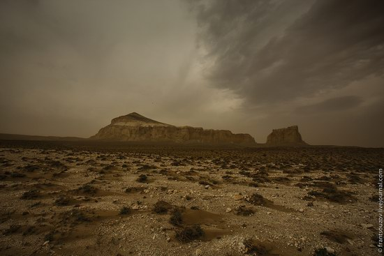Alien landscapes around Mount Shergala, Kazakhstan, photo 12