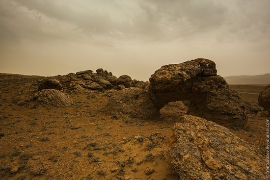 Alien landscapes around Mount Shergala, Kazakhstan, photo 13