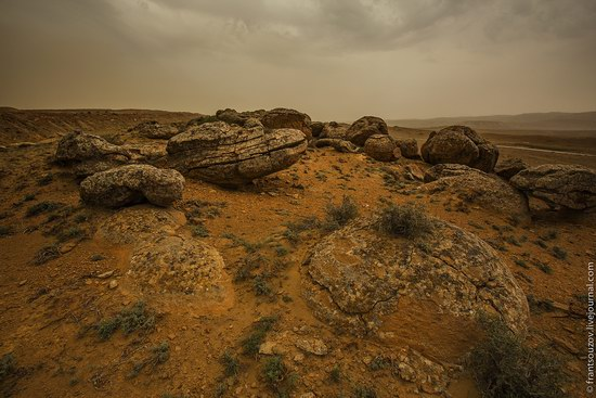 Alien landscapes around Mount Shergala, Kazakhstan, photo 14