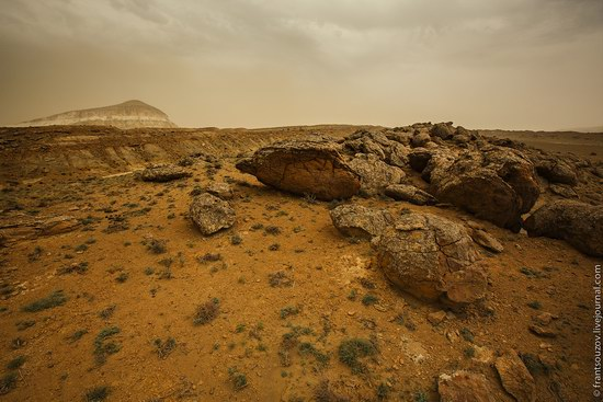 Alien landscapes around Mount Shergala, Kazakhstan, photo 15