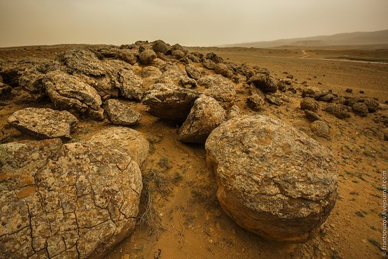 Alien landscapes around Mount Shergala, Kazakhstan, photo 16