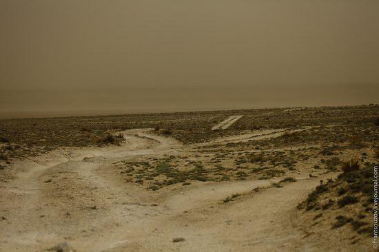 Alien landscapes around Mount Shergala, Kazakhstan, photo 17