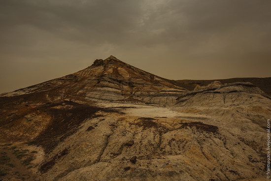 Alien landscapes around Mount Shergala, Kazakhstan, photo 18