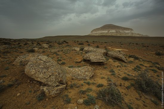 Alien landscapes around Mount Shergala, Kazakhstan, photo 3