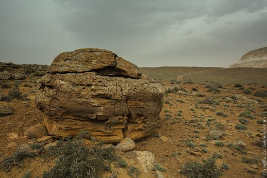 Alien landscapes around Mount Shergala, Kazakhstan, photo 4