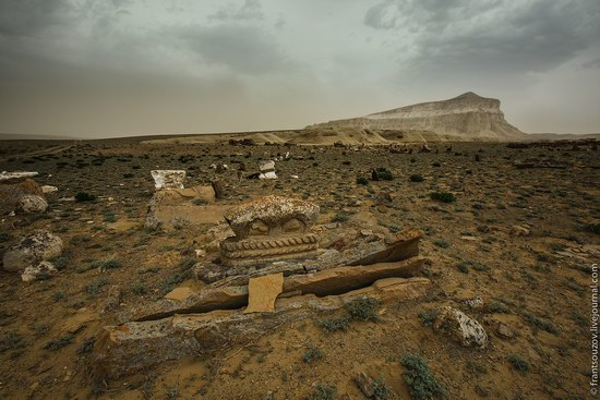 Alien landscapes around Mount Shergala, Kazakhstan, photo 5