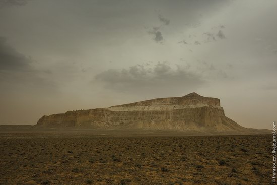 Alien landscapes around Mount Shergala, Kazakhstan, photo 6