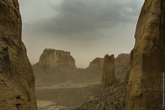 Alien landscapes around Mount Shergala, Kazakhstan, photo 9
