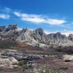 Stunning views of the limestone plateau Aktolagay